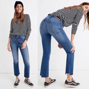 Madewell Cali Demi-Boot Jeans in Kemper Wash